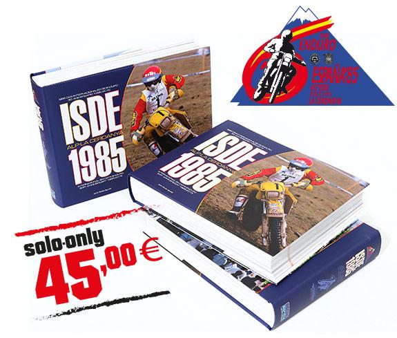 libro de enduro clásico años 80